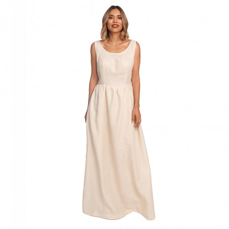 Lotus long dress, linen,...