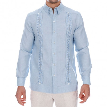 Rockabilly Guayabera Shirt,...