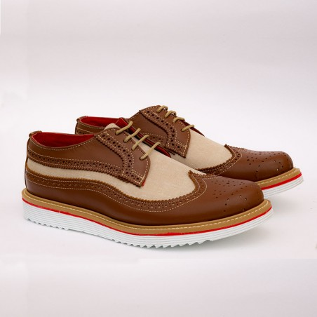 Brown casual shoes