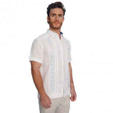 Guayabera Yeray plus size...