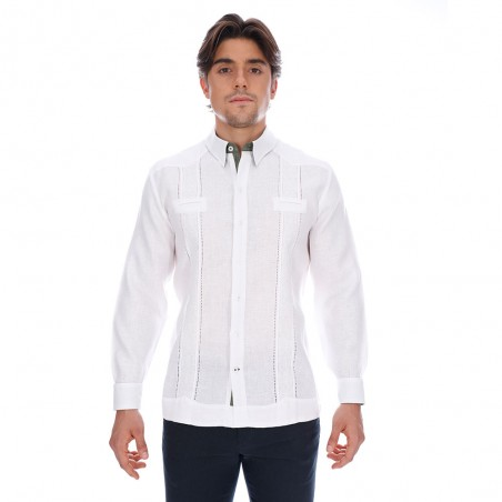 Legion guayabera shirt,...