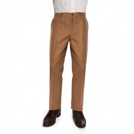 Pantalon Slim Chino Brown